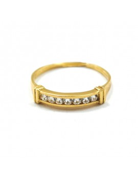 18k gold ring and...