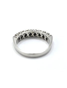 18k white gold and brillant antique ring