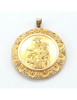 MEDAL IN GOLD 18K WITH...