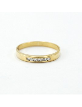 RING 18K GOLD AND DIAMONDS....
