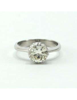 SOLITAIRE DIAMOND RING...