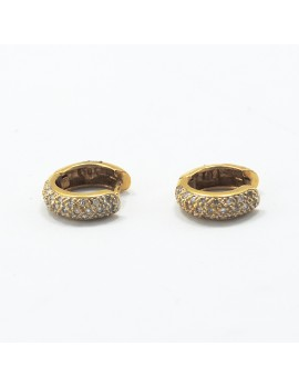 EARRINGS 18K GOLD AND...
