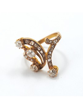 BEAUTIFUL ANTIQUE 18K GOLD...