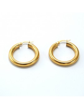 EARRINGS IN GOLD 18K
