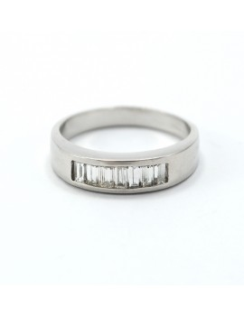 RING IN WHITE GOLD 18K WITH...