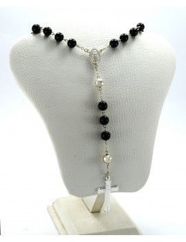 ROSARY FOR  MEN IN SILVER...