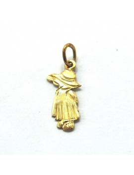 GIRL IN 18K GOLD
