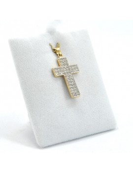 18K GOLD CROSS IN GOLD 2...