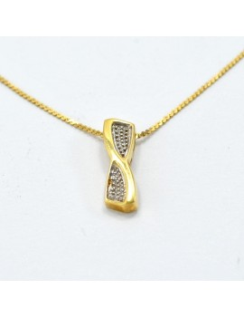 SET IN 18K GOLD