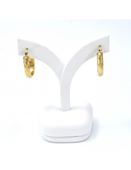 EARRINGS IN 18K GOLD....