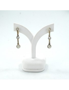 GOLD 18k ANTIQUE EARRINGS...