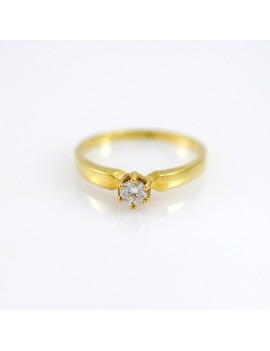 RING 18K GOLD YELLOW AND...