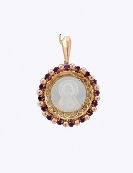 VIRGIN OF RELIGIOUS MEDAL,...