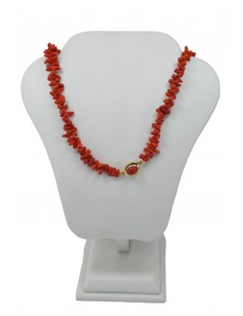 CORAL NECKLACE, LENGTH 60...