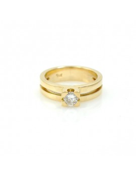 DOUBLE SOLITAIRE RING WITH...