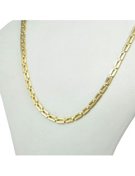 YELLOW 18K GOLD NECKLACE
