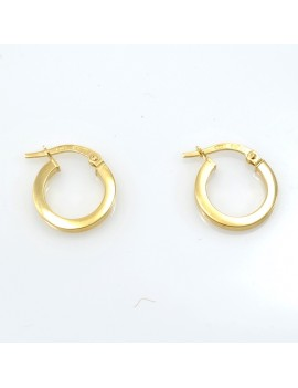 18K GOLD YELLOW EARRINGS...