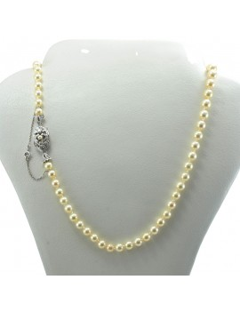 NECKLACE PEARLS IN GOLD 18k...