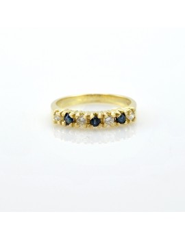 RINGS IN 18K GOLD WITH...