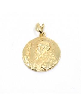 MEDAL IN 18K GOLD. SAN...
