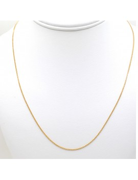CHAIN IN 18K GOLD 45 CMS...