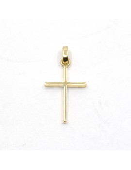 CROSS IN 18K YELLOW GOLD...