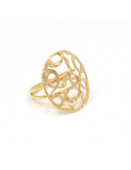 18K GOLD RING WITH...