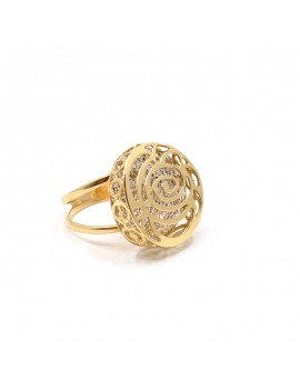 RING IN 18K GOLD, 2 TONES....