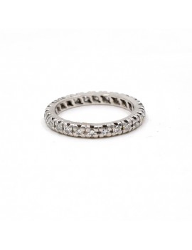 ENDLESS RING IN 18K WHITE...