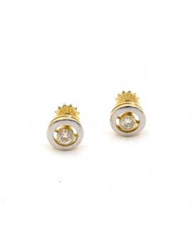 EARRINGS IN 18K GOLD OLD...