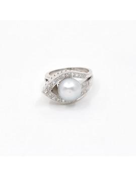 RING IN WHITE GOLD,...