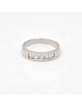 RING IN 18K WHITE GOLD AND...