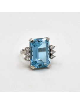 BLUE AQUAMARINE AND...