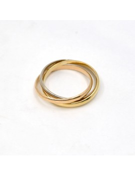 TRIPLE ALLIANCE RING IN 18K...