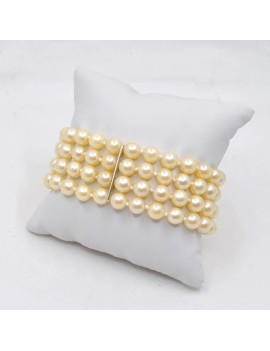 PEARL BRACELET AND WHITE...