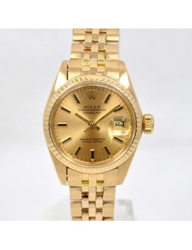 ROLEX DATEJUST LADY 18K...