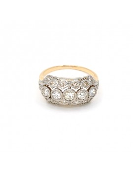 ANTIQUE RING IN 18K GOLD...