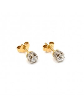 EARRINGS IN 18K GOLD WITH...
