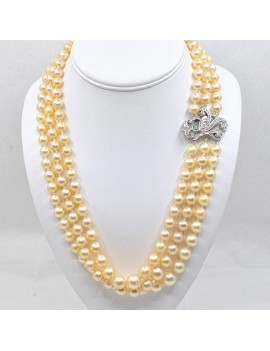 CULTURE PEARL NECKLACE....