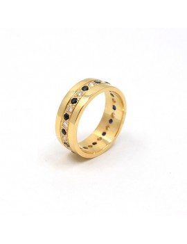 RING IN 18K GOLD, DIAMONDS...