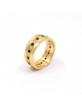 RING IN 18K GOLD, DIAMONDS...