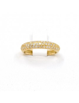 18K YELLOW GOLD RING WITH...