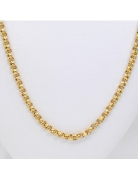 CHAIN IN 18K YELLOW GOLD...