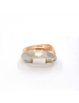 RING IN GOLD 2 COLORS 18K....