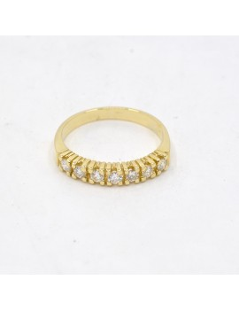 RING IN 18K YELLOW GOLD AND...
