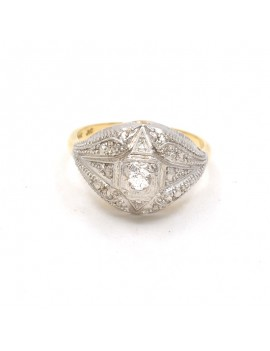 18K ANTIQUE RING IN 2...