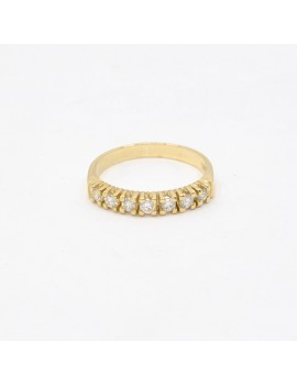 RING IN 18K YELLOW GOLD...