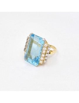 AQUAMARINE AND DIAMONDS...