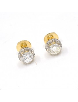 EARRINGS IN 18K GOLD,...