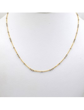 CHAIN ​​IN 18K GOLD 2 TONES